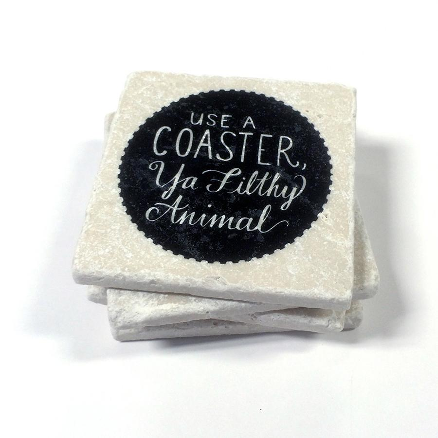 Drinking-Coasters-Filthy-Animal-Versatile-Designs-Made-In-Canada-Toronto