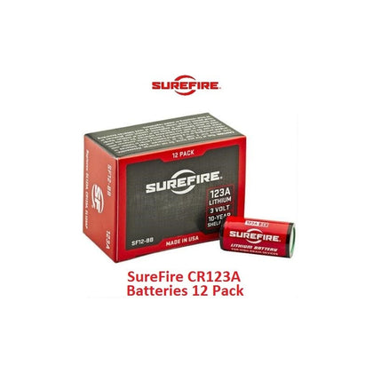 SureFire - CR123A Batteries 12 Pack