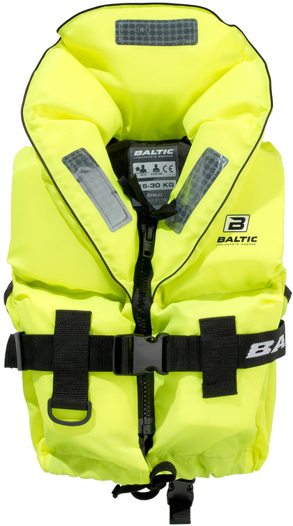 Baltic - Pro Sailor Lifejacket UV-yellow Junior (30 KG)