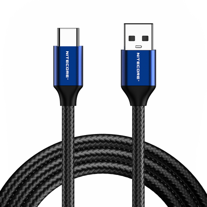 Nitecore - UAC20  (USB-C to USB-A 2.0 Charging Cable)