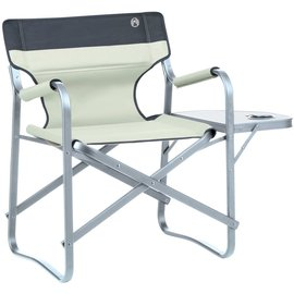 Coleman - Deck Chair With Table (Khaki)