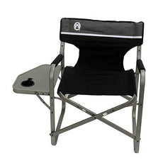 Coleman - Deck Chair With Table (Black) - SRKW