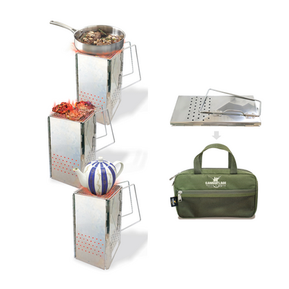 Camouflage - Portable Charcoal Outdoor BBQ
