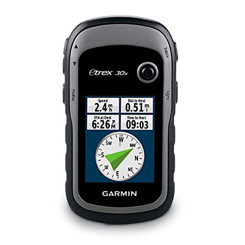 Garmin - eTrex 30 Touchscreen Handheld GPS with 3-axis Compass