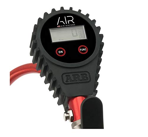 ARB - Digital Tire Pressure Gauge with Braided Hose and Chuck, Inflator and Deflator