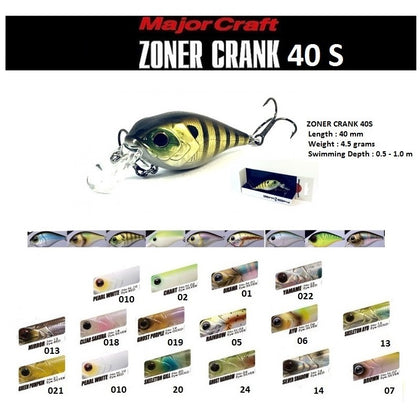 Major Craft - Zoner Crank ZC40S (4.5 g)