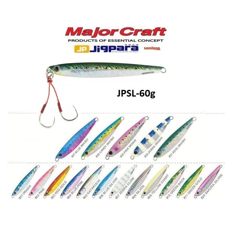 Majorcraft - Jigpara semi-long JPSL-60g