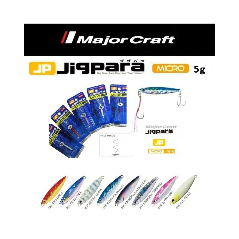 Major Craft- JP Jigpara Micro 5g