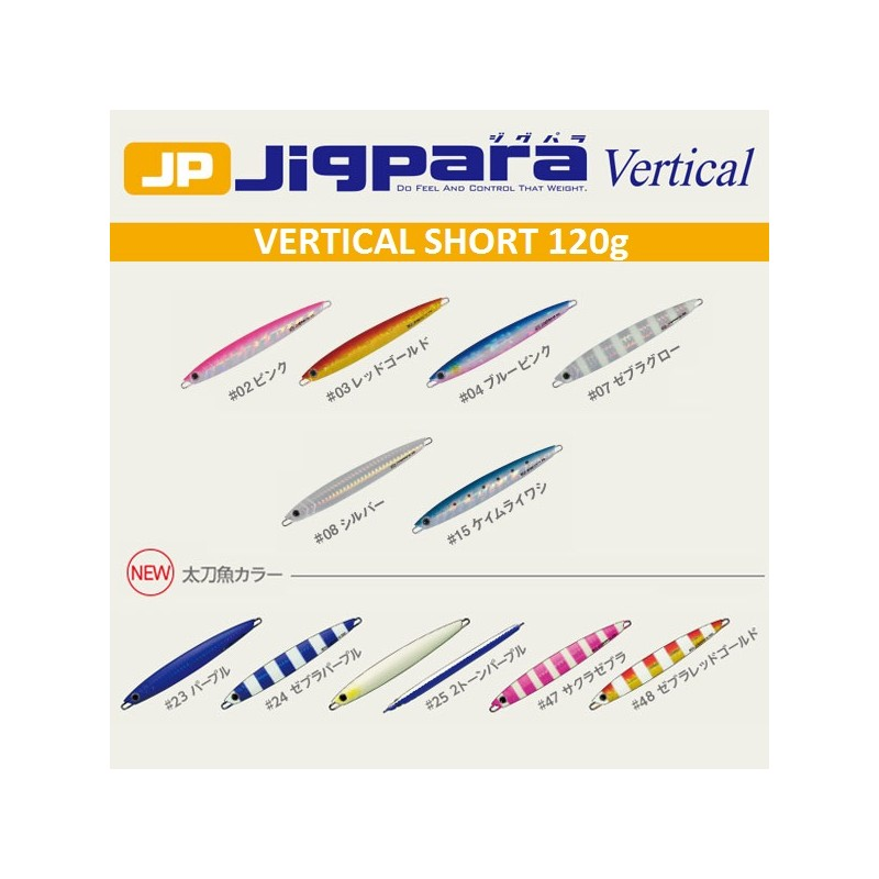Major Craft - Metal Jig Jigpara Vertical Jpv-120g