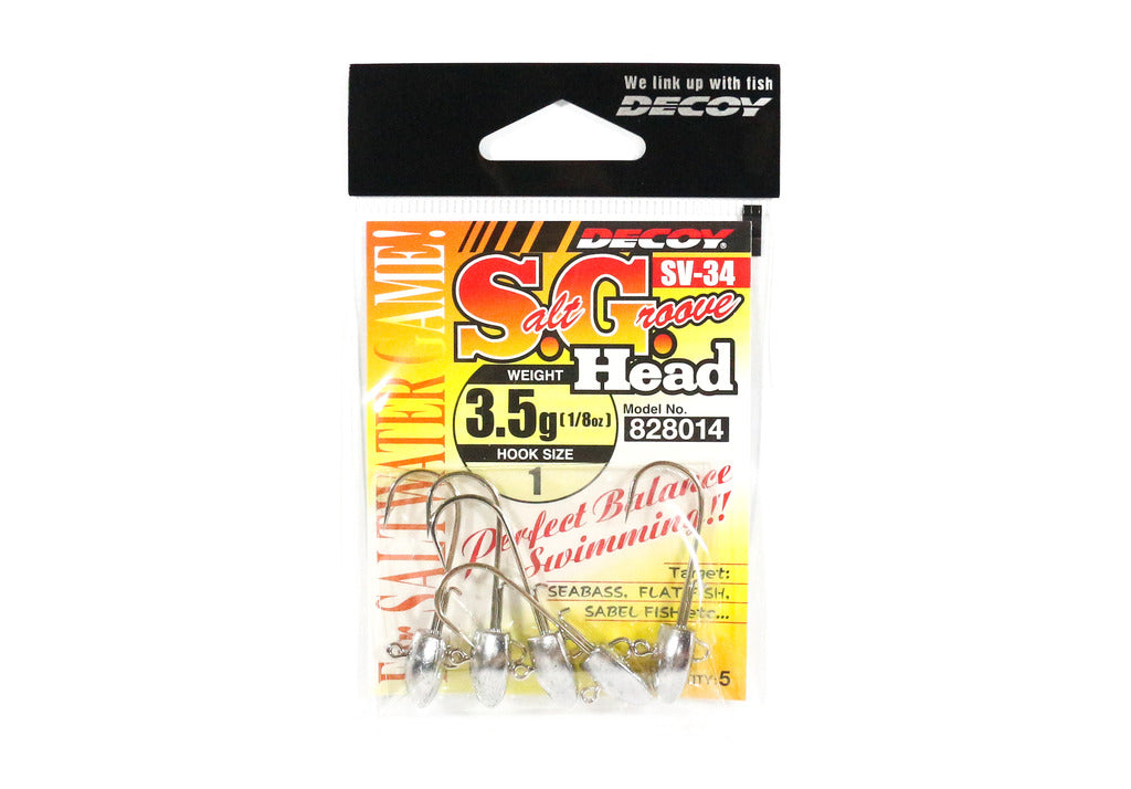 Decoy - Salt Groove - SV-34 (3.5 Gram)