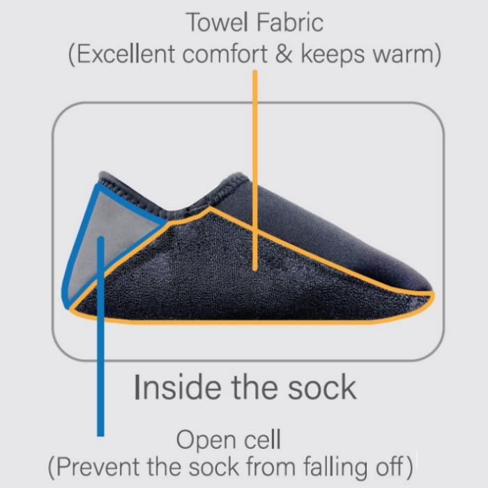 IST - Free-Diving Boat Socks (3mm)