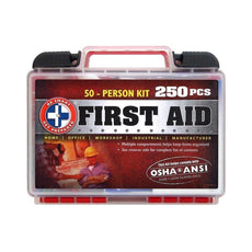 Total Resources - 50 Person First-Aid Kit (250 Pcs)