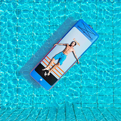 Murtisol - Inflatable Floating Gymnastics Tumbling Mats (Blue)