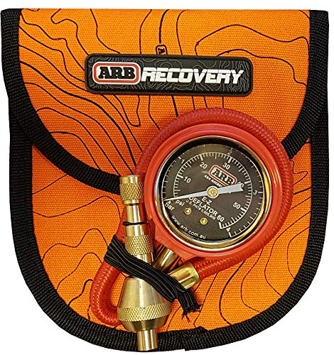 ARB - E-Z Deflator with Bar/Psi Gauge Include Recovery Gear Bag