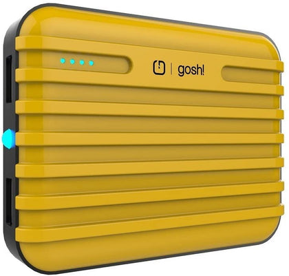 Gosh - Joule Rig 10,000mAh Powerbank (Duo USB with Flash)