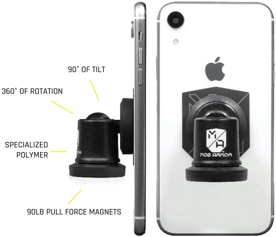 Mob Armor - MobNetic Pro 90 Phone Mount White (For Phones)