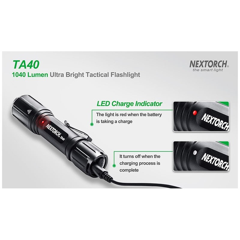 Nextorch - TA40 Hunting Set 1040 Lumen Ultra Bright