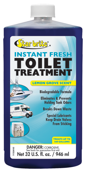 Star Brite - Instant Fresh Toilet Treatment Lemon Scent (16 Oz) - KOR