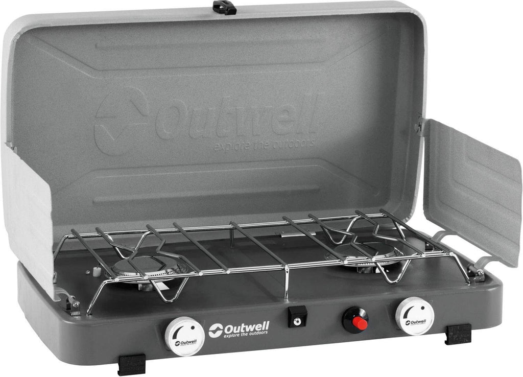 Outwell - Gourmet Cooker (2 Burner with Lid)