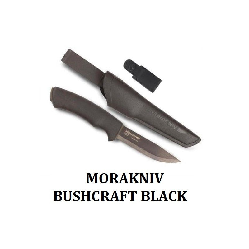 Morakniv - Bushcraft (Black)