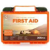 Total Resources - Camping First-Aid Kit (205 Pcs)