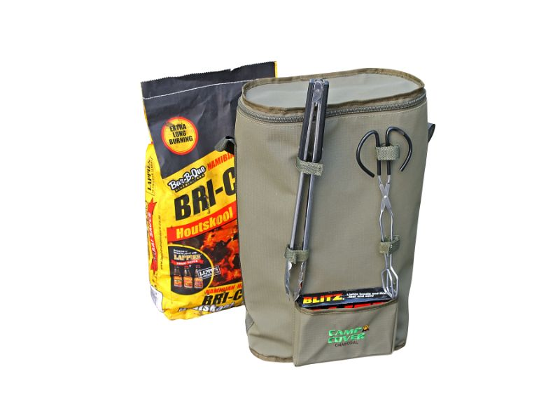 Camp Cover - Charcoal Bag Ripstop