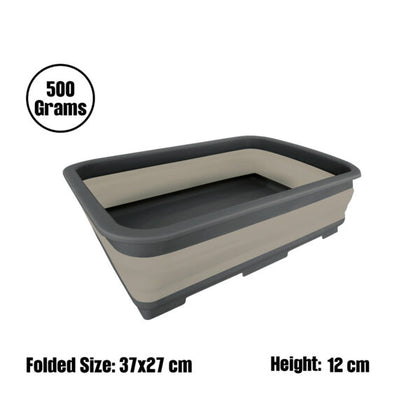 Camouflage - Rectangular Folding Bucket