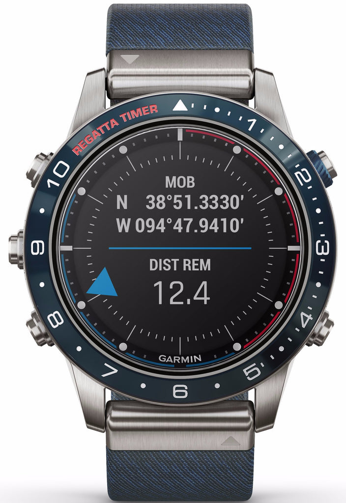 Garmin - MARQ Captain GPS Smartwatch