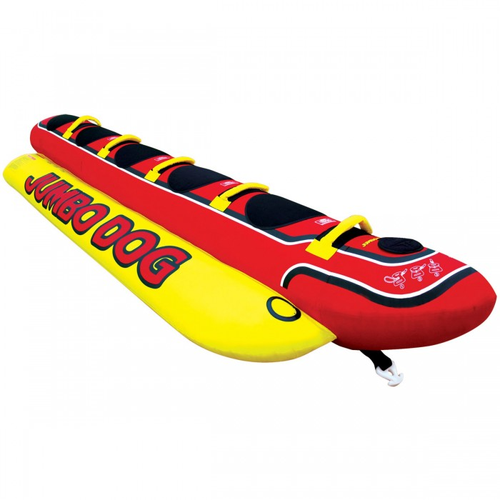 Airhead - Jumbo Dog Boat Tube For 5 Persons