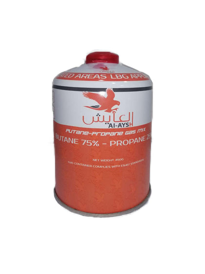 Al-ayesh - Butane & Propane Cartridge (450 grams)