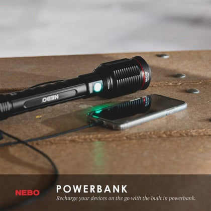 Nebo - Redline 6000 Lumen Light & Powerbank