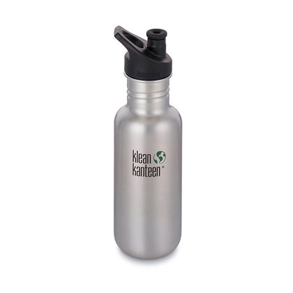 Klean Kanteen - Classic Sports Cap 532ML (Brushed Stainless)