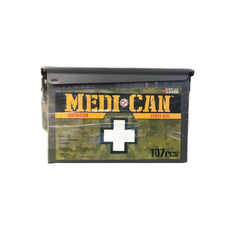 Total Resources - Medi+Can First-Aid Kit (107 Pcs)