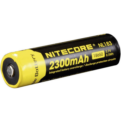 Nitecore - NL183, 18650 Li-ion battery 2300mAh 3.7V, rachargeable