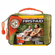 Total Resources - Outdoor First-Aid Kit (123 Pcs)