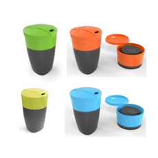 Light My Fire - Pack-Up-Cup 4-Pack (Lime/Blue/Orange/Green)