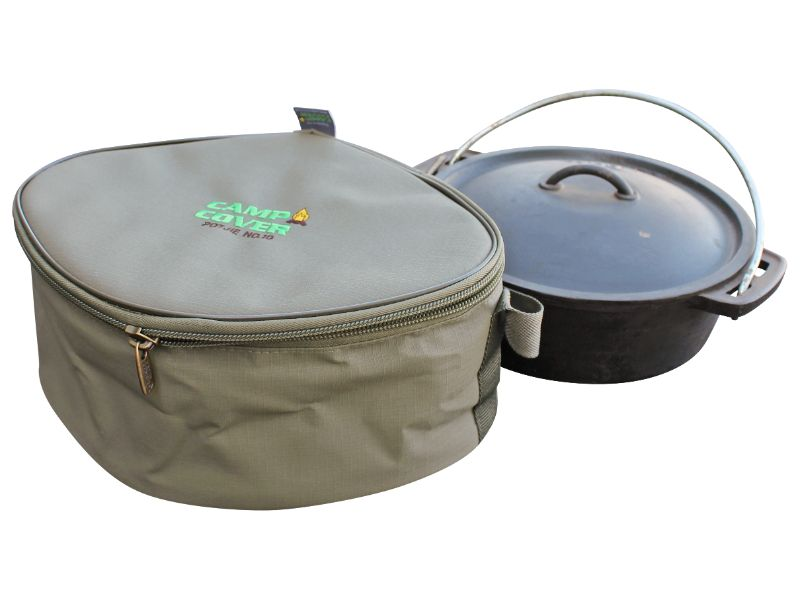 Camp Cover - Potjie Cover Flat Ripstop No. 10 (34 x 28 x 15 cm)