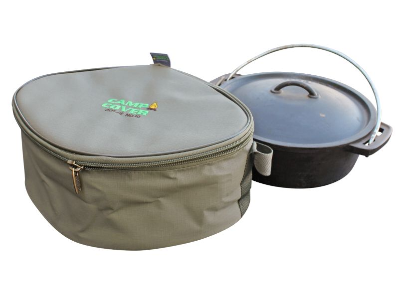 Camp Cover - Potjie Cover Flat Ripstop No. 12 (39 x 32 x 15 cm)