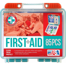 Total Resources - First-Aid Kit (85 Pcs)