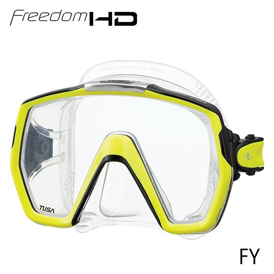 Tusa - Freedom HD Mask (Yellow)