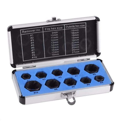 Damaged Nut Bolt Remover Kit - MND
