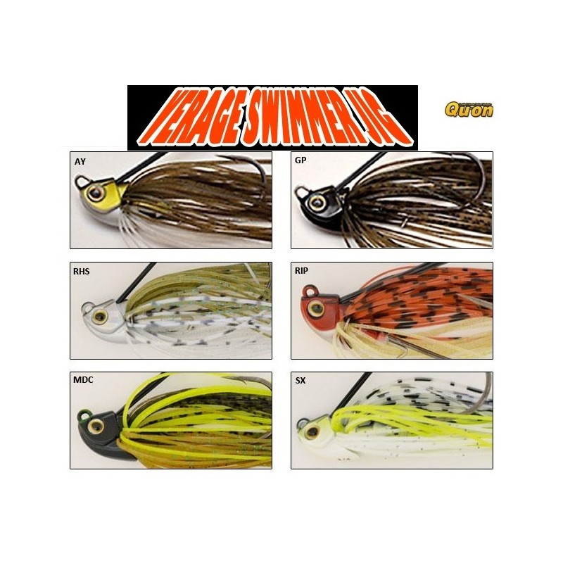 Jackson - Verage Swimmer JIG 1/4oz