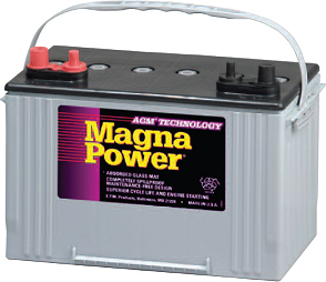 Magma Power - VRLA AGM Marine Battery
