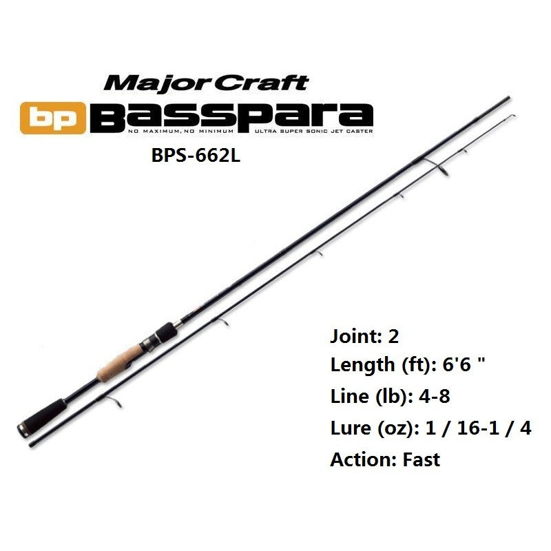 Major Craft - Basspara BPS-662L