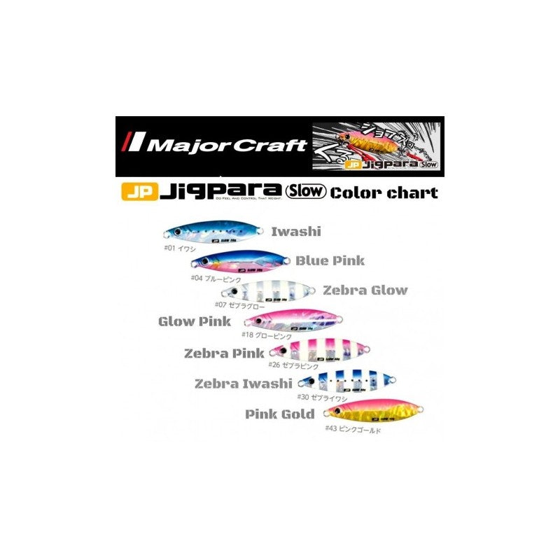 Major Craft - Jigpara Slow JPSLOW-50g
