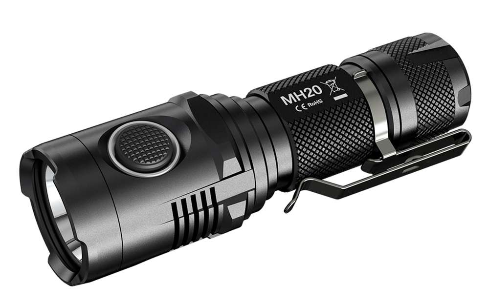 Nitecore - MH20 Multitask Hybrid Series Rechargeable LED Flashlight