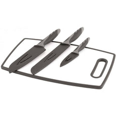 Outwell - Caldas Knife Set with Cutting Board - SRKW