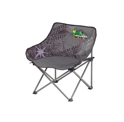 IRONMAN4x4 - Mid Size Low Back Camp Chair (130Kg Rated)