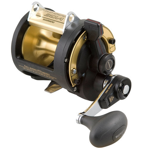 Shimano - TLD 30 2-speed Reel 4 Bearings Graphite Drag