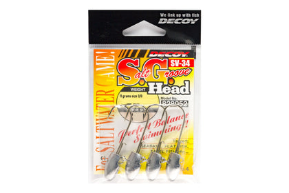 Decoy - Salt Groove - SV-34 (11 Gram)